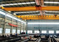 Single Beam Travelling Overhead Crane , Low Headroom Bridge Crane With End Carriages