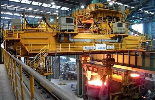 Foundry / Ladle/ Casting Bridge Crane for Steel Mills with Safety High Protect Grade QDY / YZ Model EOT Crane